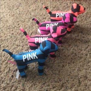 Victoria's Secret Pink Mini Dogs - Stripe Set